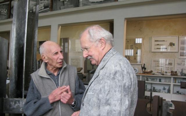 Claude parent dans l 39 atelier de perigny sur yerres - Claude parent architecte ...